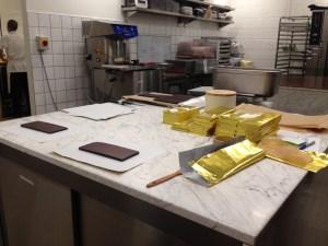 Mast Chocolate Shop Kitchen. Pic: Claudia Decarli.
