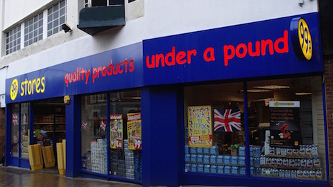 99p Stores on Church Street. Credit: Kate (Flickr).