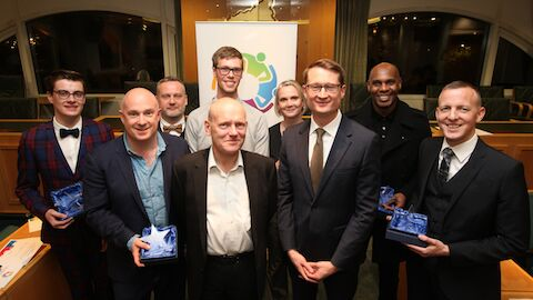 Pic: LGBT+ Heroes awards winners Credit: Tower Hamlets Council