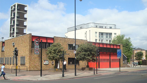 Kingsland Road Fire Station