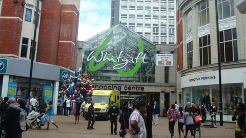 The Whitgift Centre. Pic: Stacey Harris.