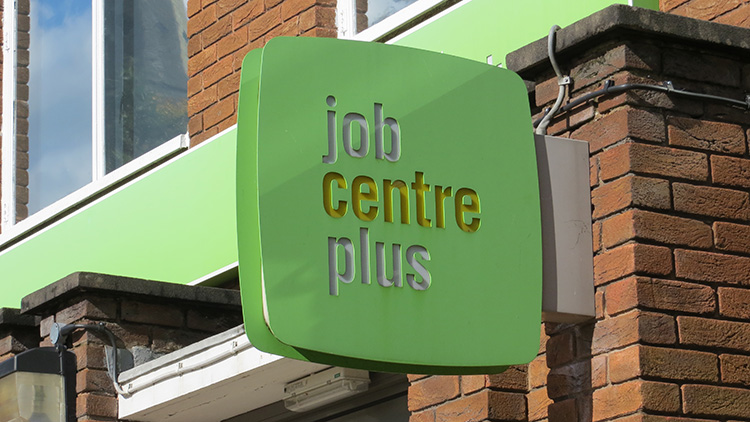Croydon Job Centre Plus. Pic Helen Cobain