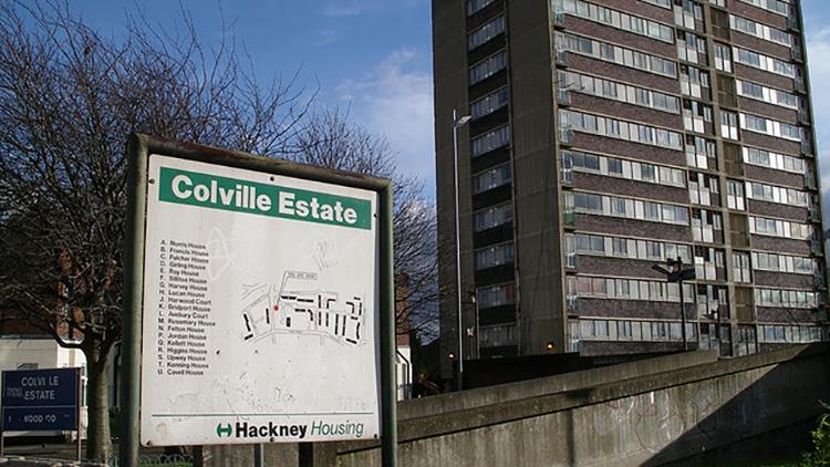 Colville Housing Estate, Hackney.  Pic: Flickr.