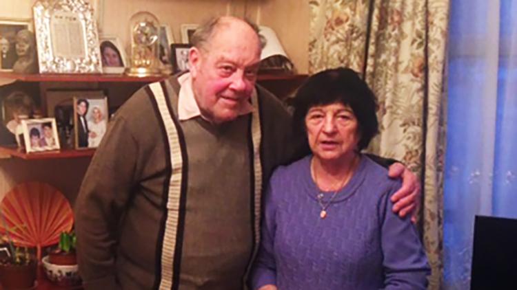 Holocaust survivors Alfie and Miriam Buechler. Pic: Tara Dein
