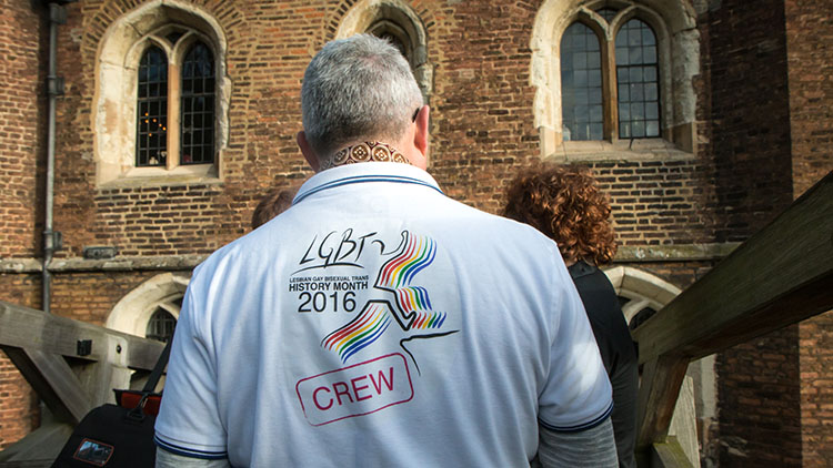 LGBT History Month. Pic: Nicolas Chinardet - zefrographica