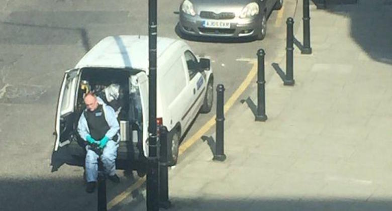 S.B-Hackney Man Collapsed PIC Benjamin Haworth