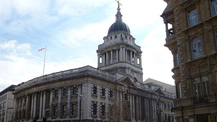 Old Bailey, where Chevaughn Chin was cleared of murder. Pic: tbmurray