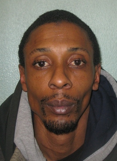 Adrian Dennis was sentenced yesterday after attacking his pregnant girlfriend in her Hackney home Pic: Metropolitan Police