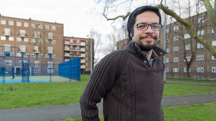 Samir Jeraj. Credit: Hackney Green Party