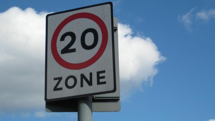 Tower Hamlets speed limit