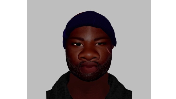 Police released this image of what the attacker looks like. Credit: Metropolitan Police