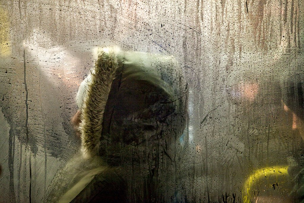 On the night bus by Nick Turpin. Pic: Nick Turpin