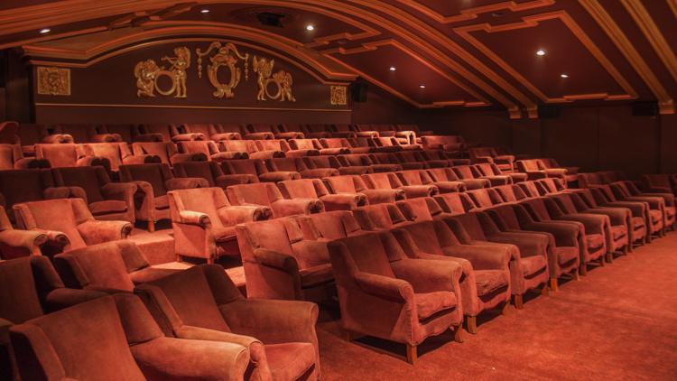 Back of auditorium. Pic; Castle Cinema