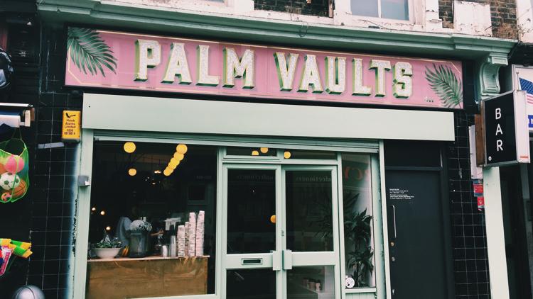 Palm Vaults' entrance. Pic; Holly Patrick.