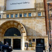 The Whitechapel Gallery. Pic; Henry Lawford (Flickr)