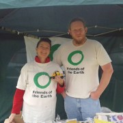 Friends of the Earth Croydon. Pic; Peter Underwood.