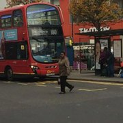 The ten year-old boy was hit earlier today on Lewisham High Street road.