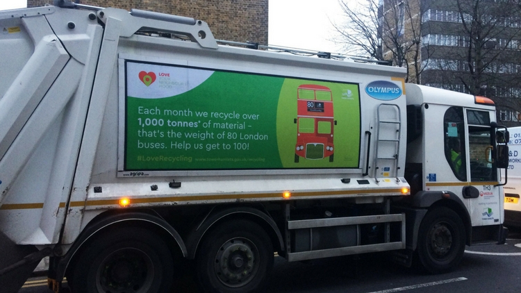 Big Clean Up event advertisement. Pic: Tower Hamlets council