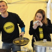 Nooch, vegan cuisine specialists, at Catford Food Market. Pic: Team Catford