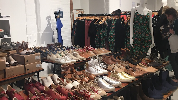 Sustainable fashion pop up event