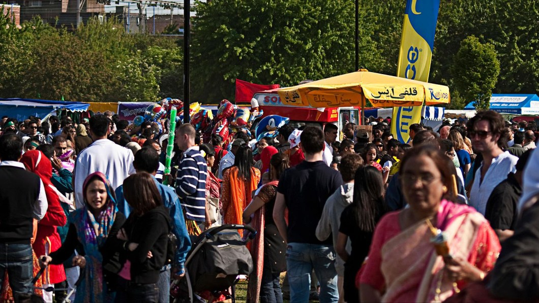 Boishakhi Mela at Weavers field, Bethnal Green. Pic: Mostaque Chowdhury