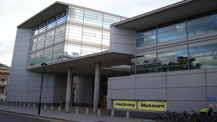 Front of Hackney Museum