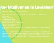 How biodiverse is Lewisham?