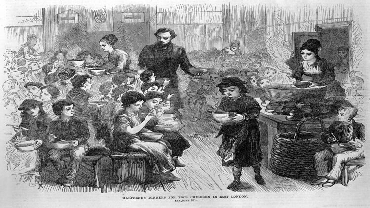 A Victorian soup kitchen