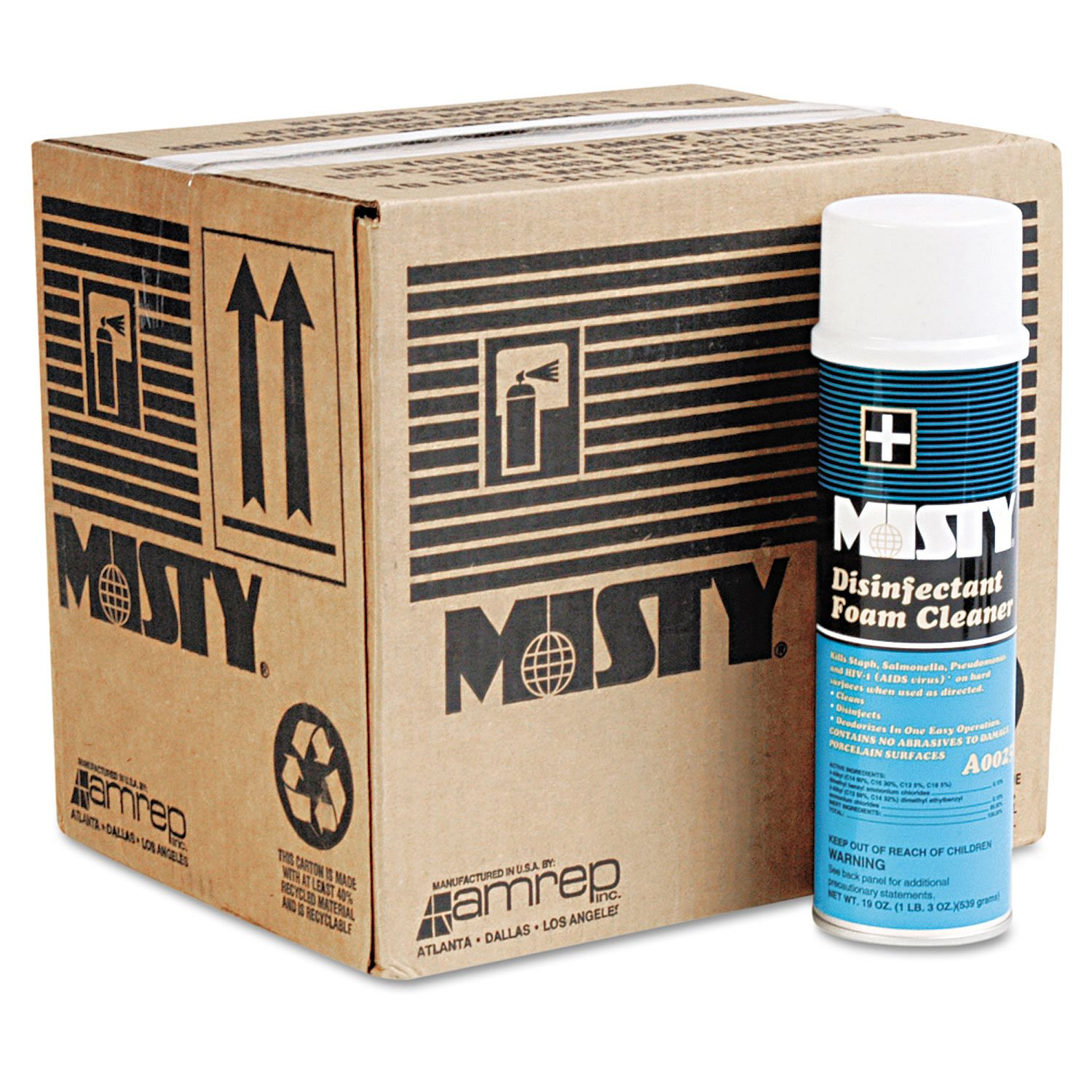 Misty Disinfectant Foam Cleaner Eastman Products