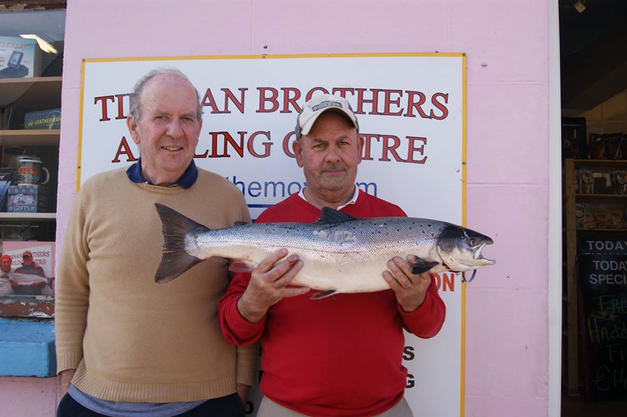 East Mayo Anglers Association Salmon caught by Mike Fitz