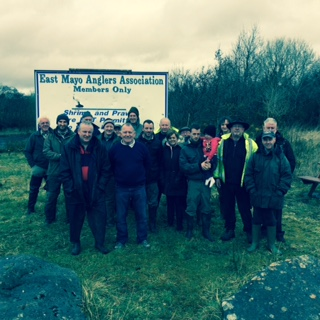 East Mayo Anglers Association River Clean up 2015