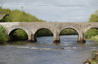 East Mayo Anglers Fishery starts at Cloongullane Bridge Swinford