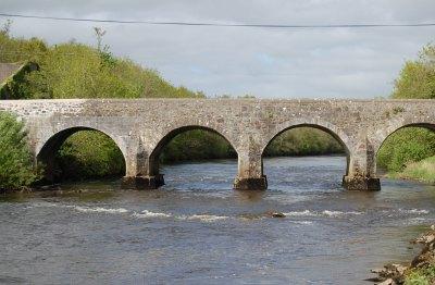 East Mayo Anglers Fishery starts at Cloongullane Bridge Swinford