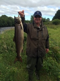 East Mayo Anglers Barry Carolan Galway 11lb caught on a Clayton's castle at Ballintemple on 21-7-15