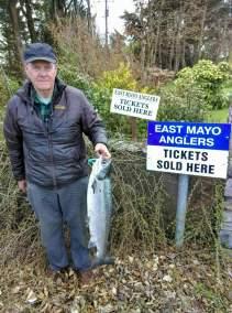 Bob Mayne Ballina 15lb W Gub to bridge 28.4.18