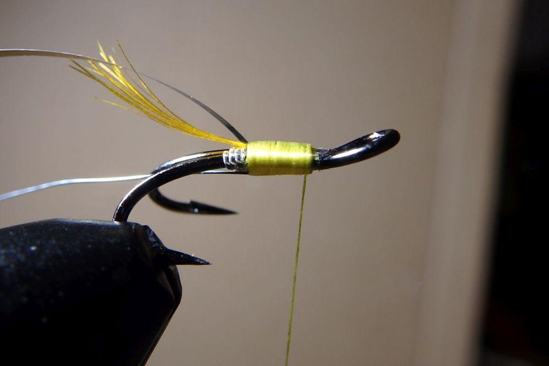 tying hair wing flies 6