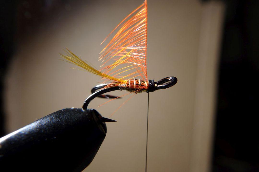 tying hair wing flies 12