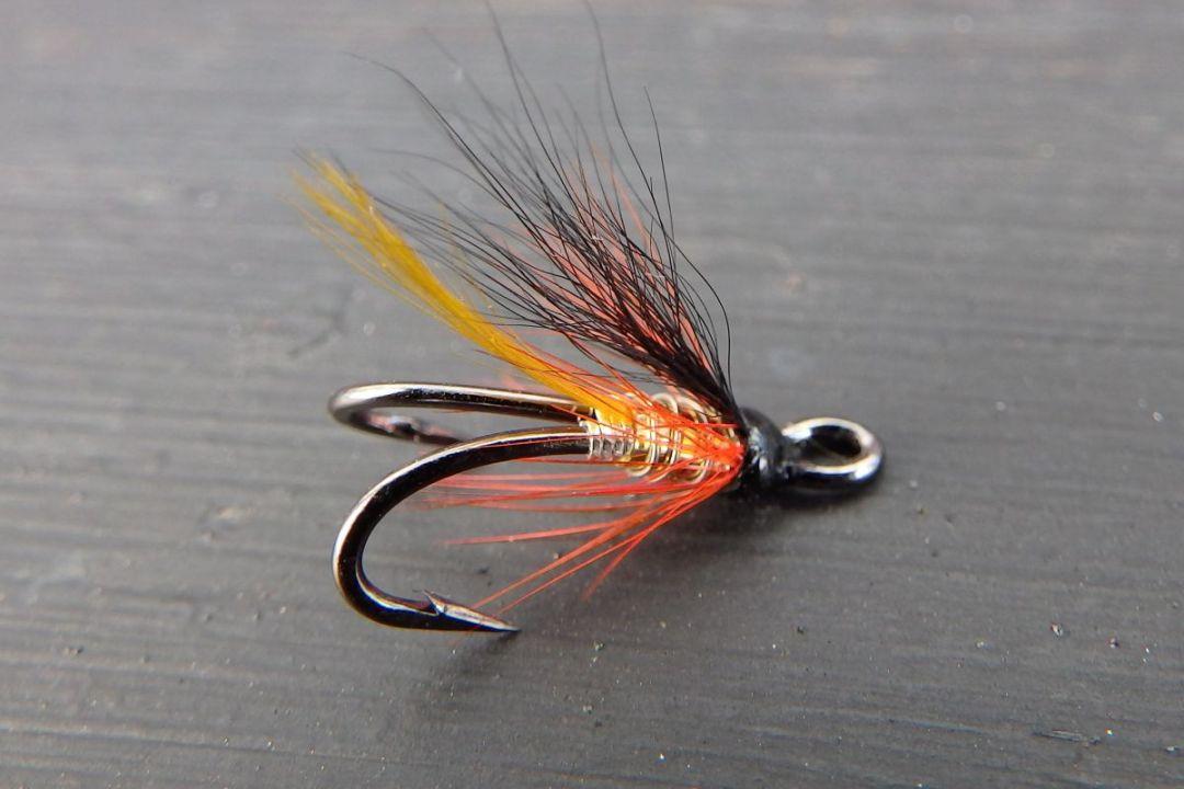 tying hair wing flies 18