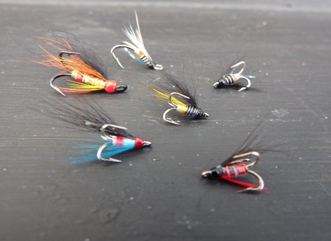tying hair wing flies 19
