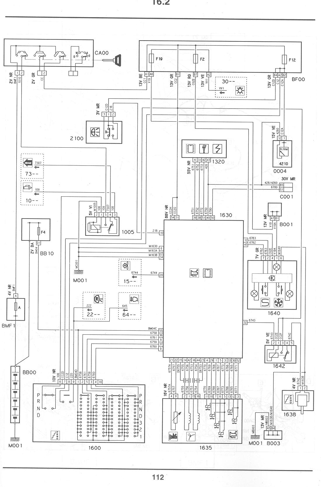 Peugeot 307 Headlamp Wiring Diagram