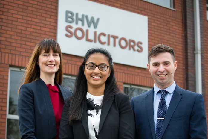 Promotions at Leicester law firm BHW Solicitors