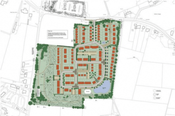 Approval in principle for 160 homes at Derbyshire brownfield site