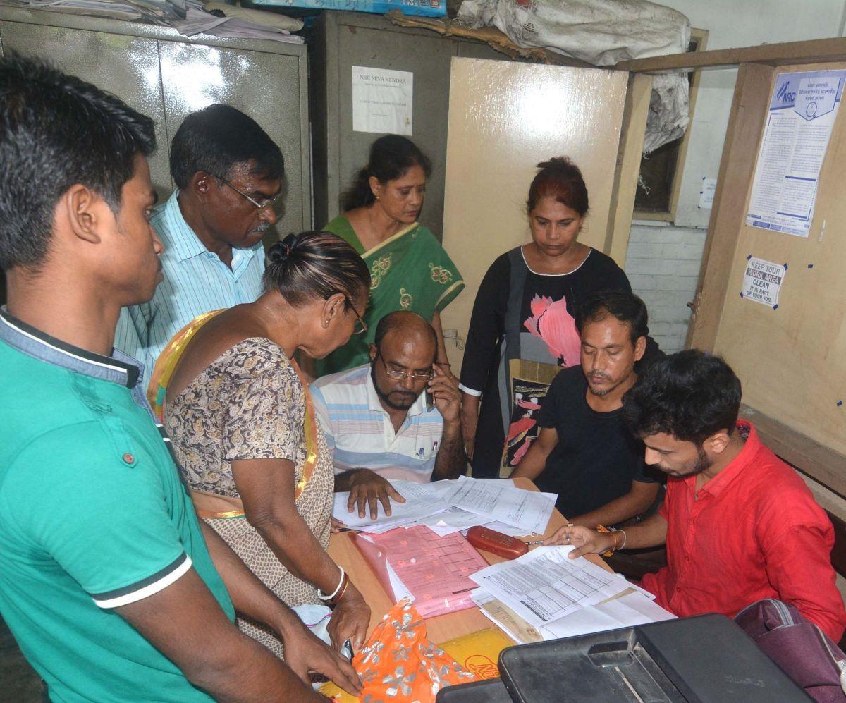 NRC applicants' biometric data locked: Assam pursing matter with Centre