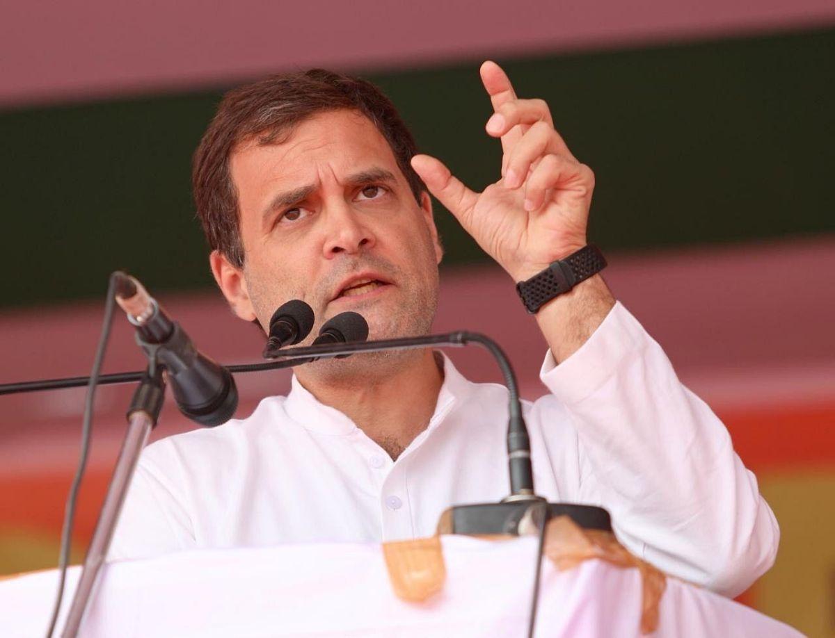 Government weakening country: Rahul Gandhi