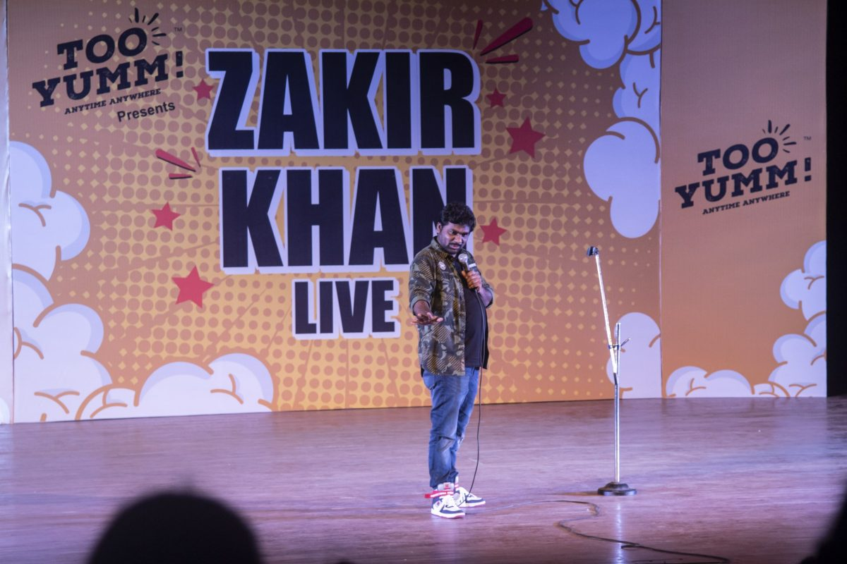 India's most loved comedian Zakir Khan performs in Guwahati 4
