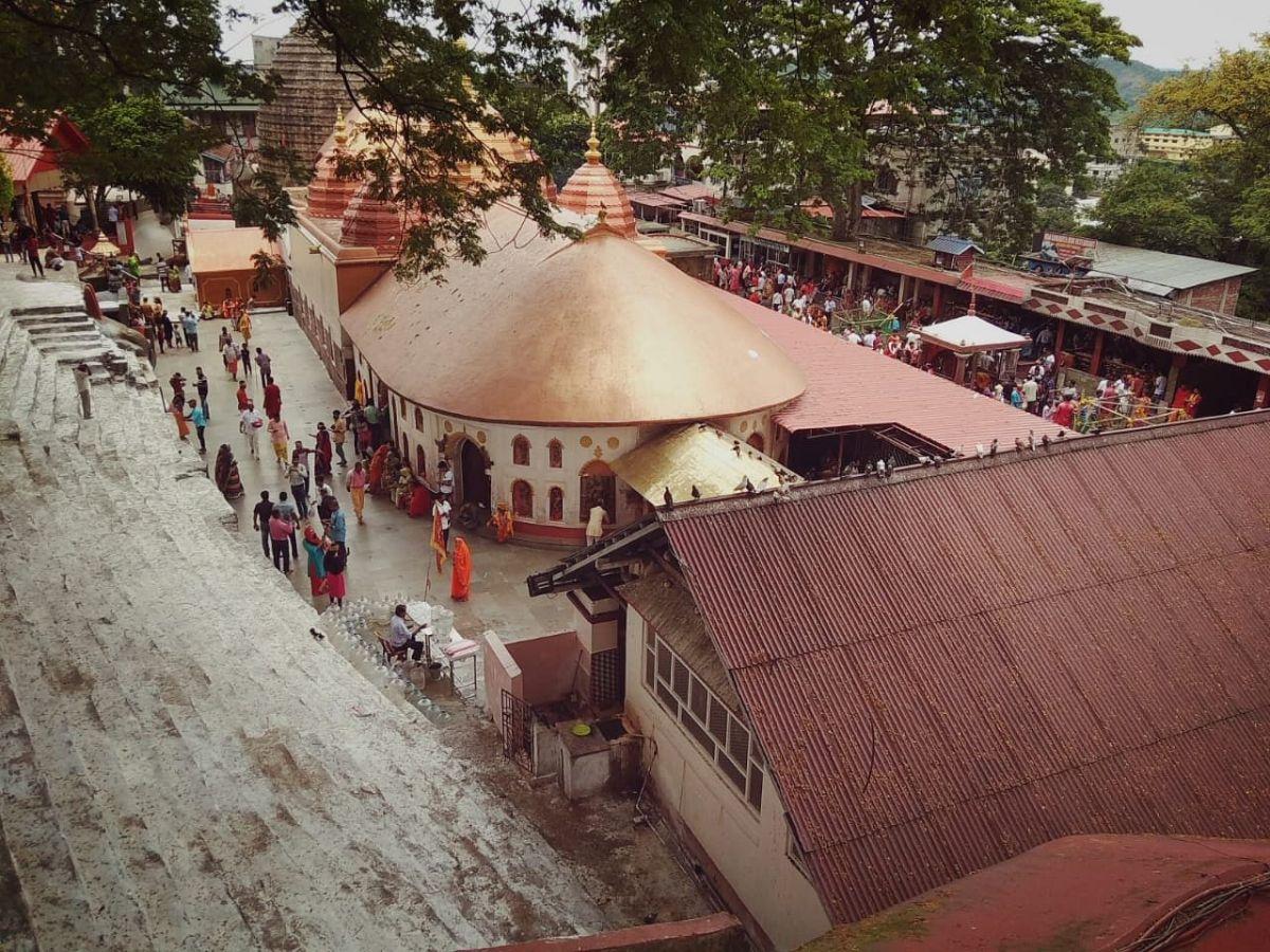 The Kamakhya Temple in Guwahati