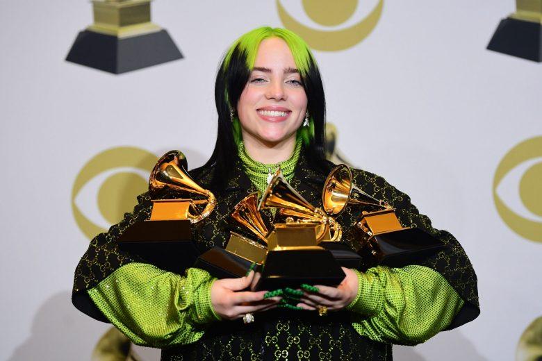Billie Eillish 62nd Annual Grammy Awards
