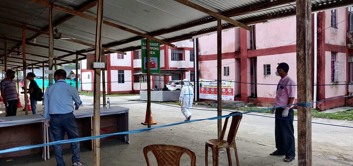 Lockdown in Itanagar Capital region