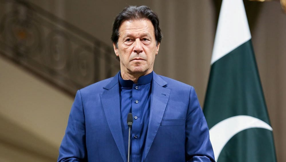 Prime Minister Imran Khan had a brain fart moment during a live telecast while addressing the nation on Thursday night