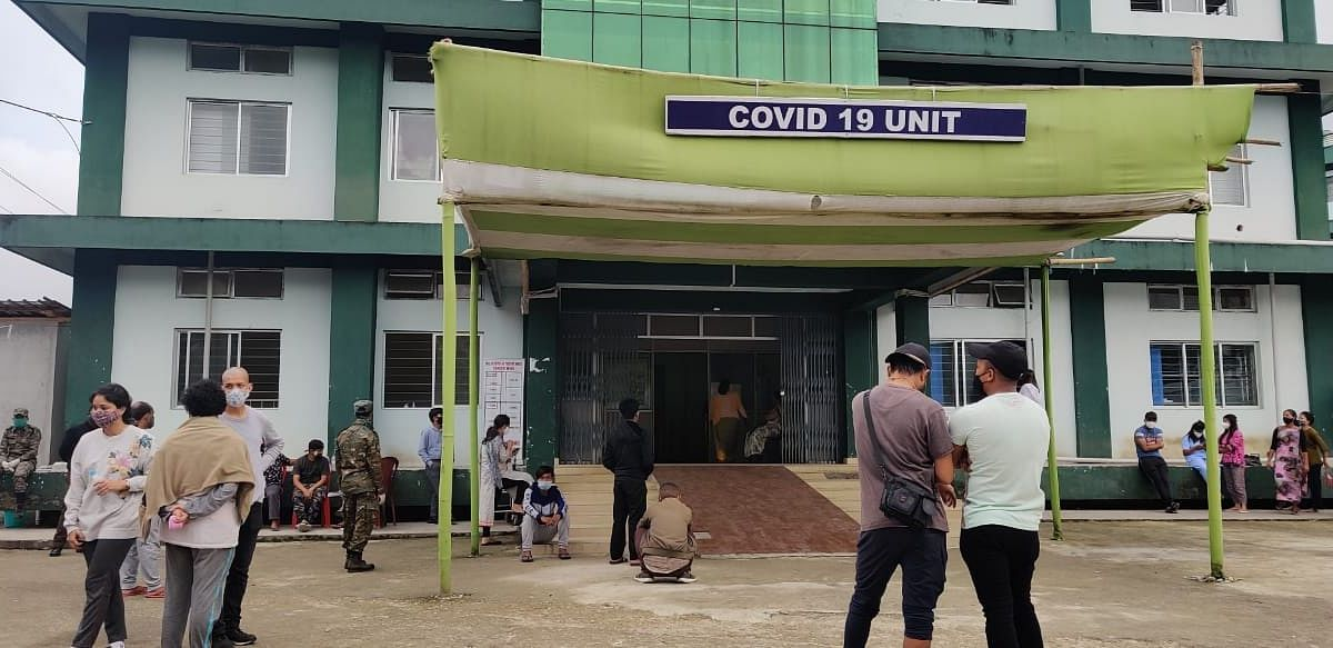 Staff shortage plagues Meghalaya as health workers test COVID-19 positive